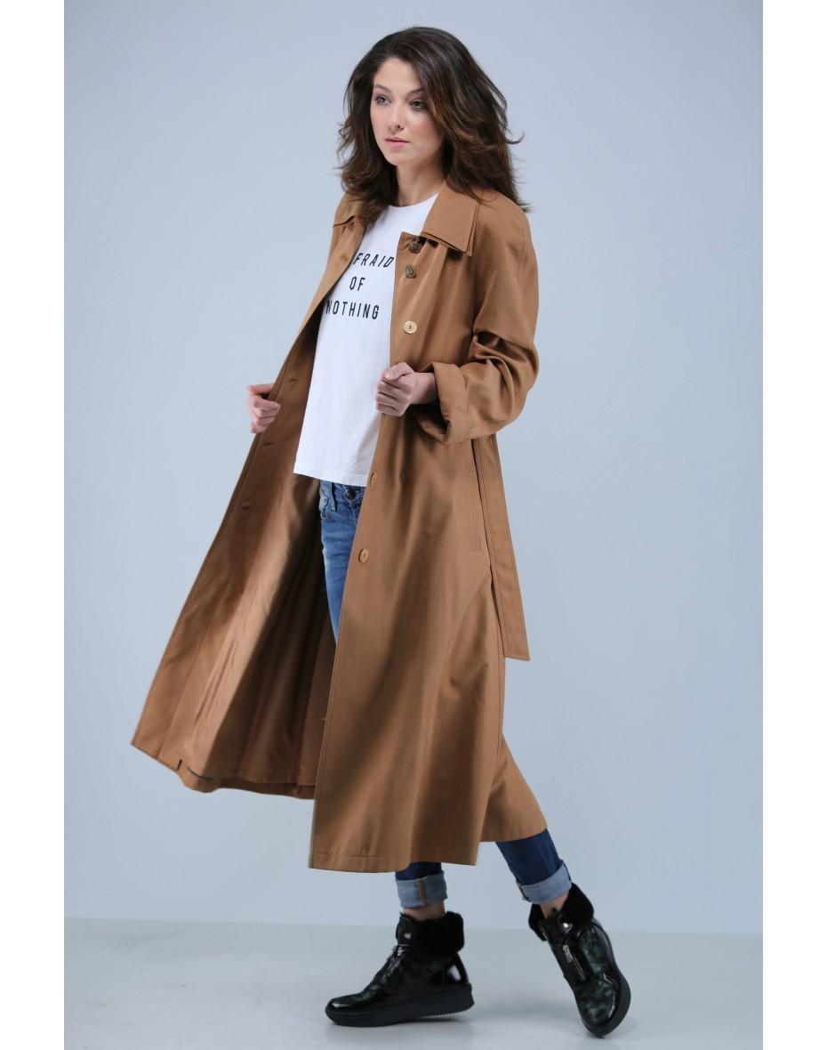 Класически дълъг шлифер